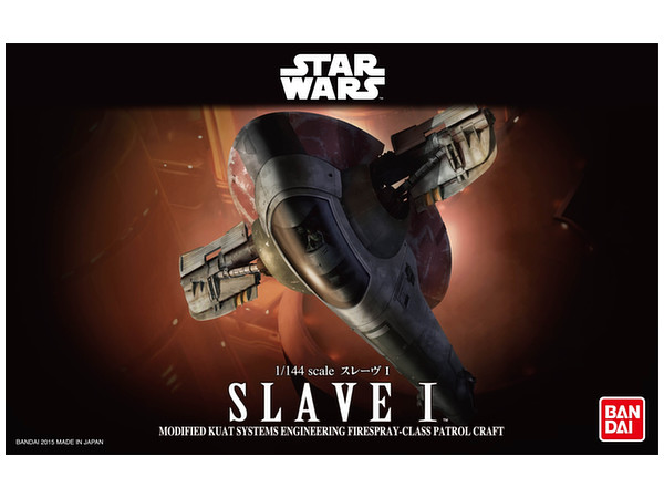 1.144 Slave I (Star Wars Episode 5  Empire Strikes Back) Plastic model