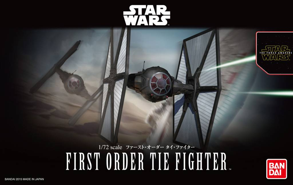 1.72 First Order TIE Fighter